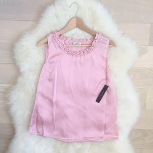Tahari - Antique Pink Blouse (NEW)